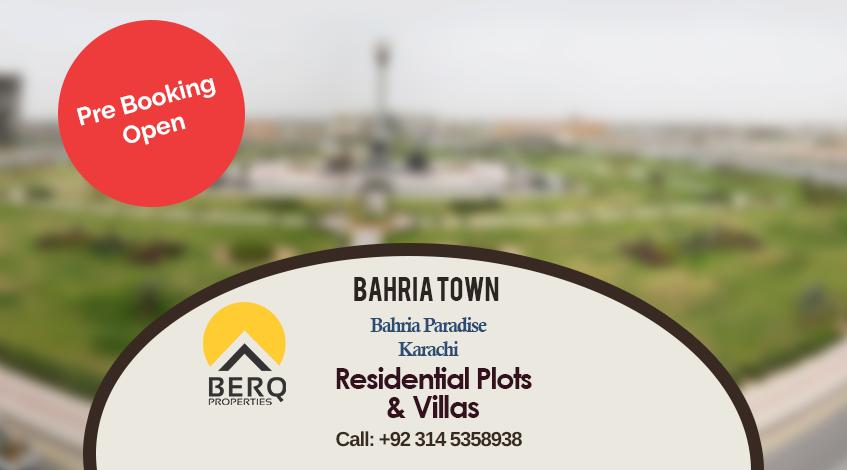 Bahria Paradise Pre Booking
