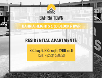 Bahria Heights 1 D block