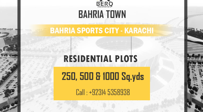 Bahria Sports City Karachi