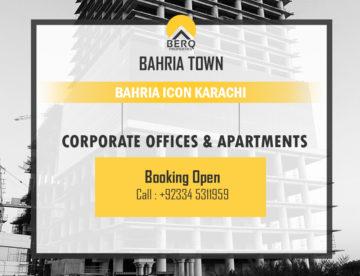 Bahria icon karachi