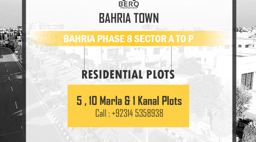 Bahria phase 8 sector A to P