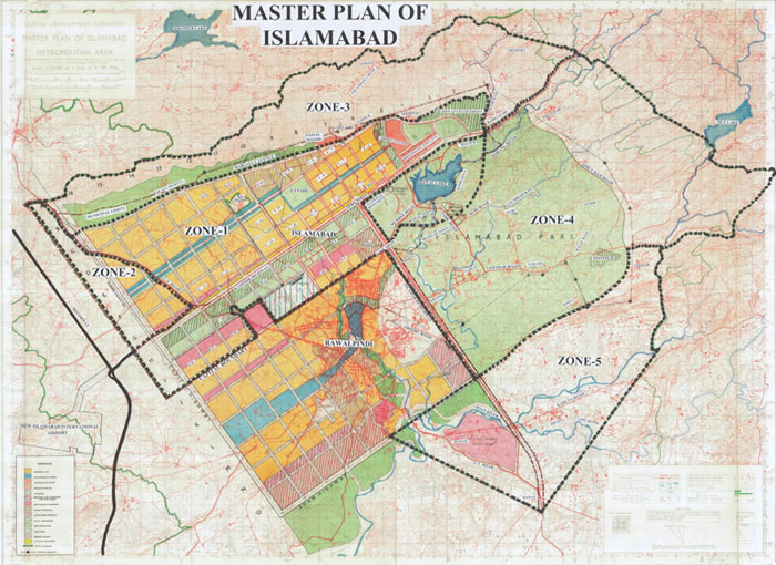 Guide Map Of Islamabad