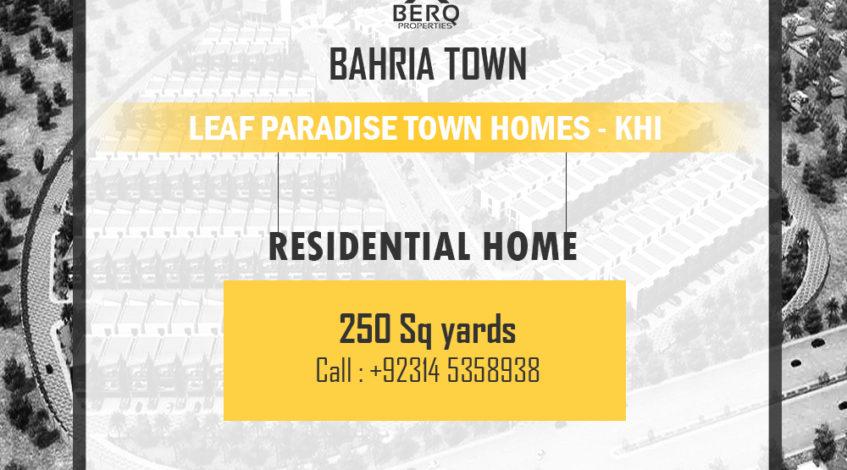 Leaf Paradise Bahria Town
