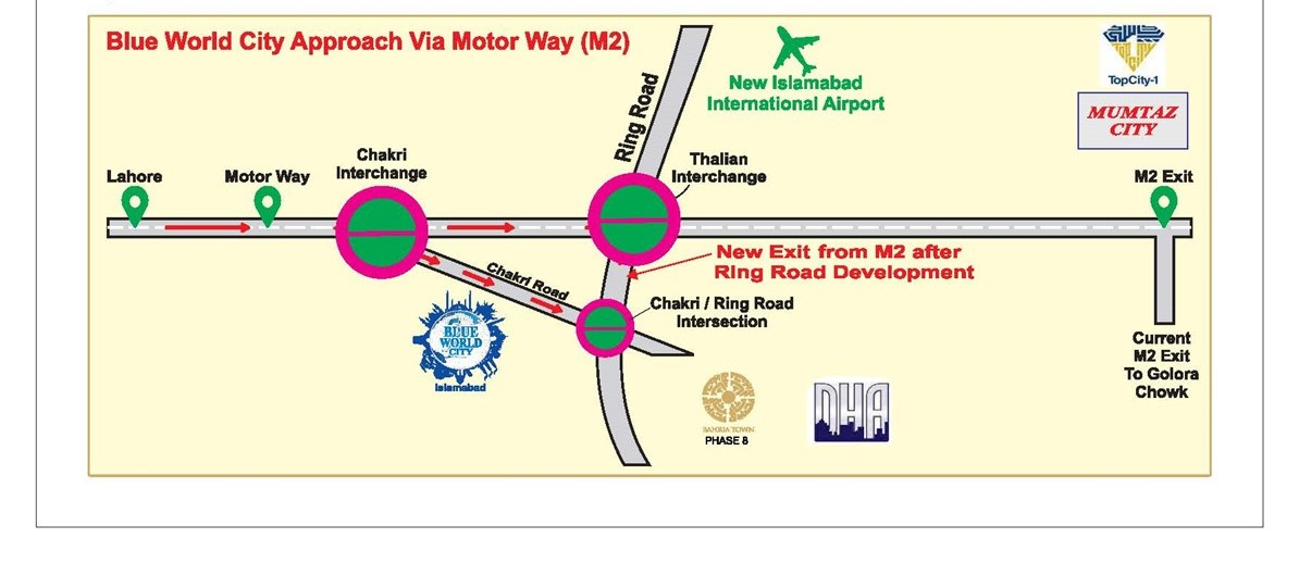 Blue World City Islamabad - Project Details, Location and