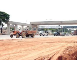 Development work on Khana interchange resumed