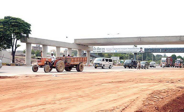 Development work on Khana interchange resumed