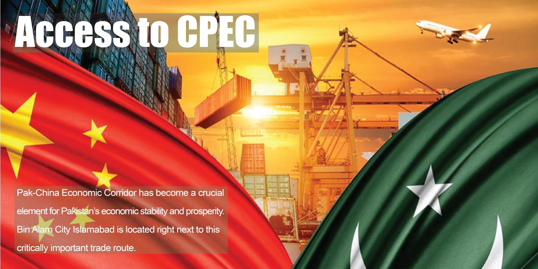 Bin Alam City - CPEC Access