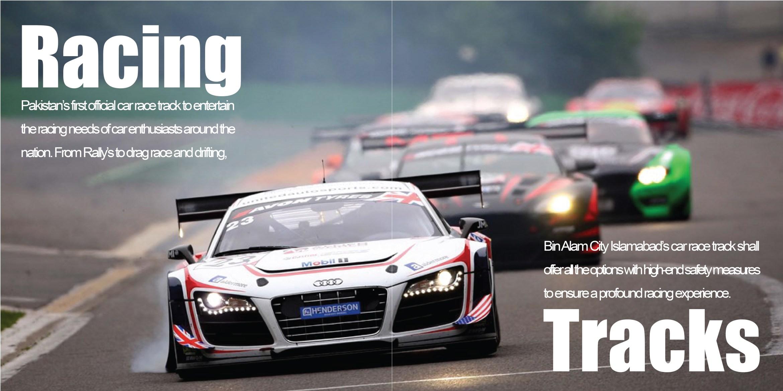 Bin Alam City - Car Race Track