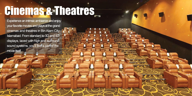 Bin Alam City - Cinemas & Theatres