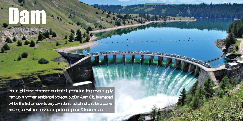 Bin Alam City - Dam
