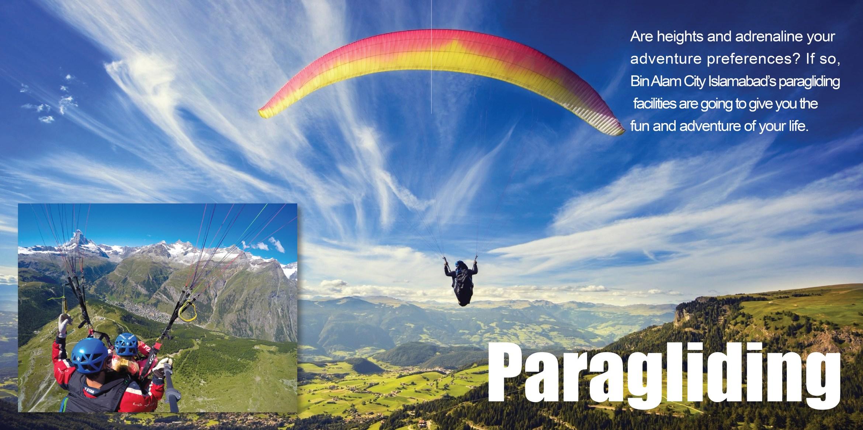 Bin Alam City - Paragliding