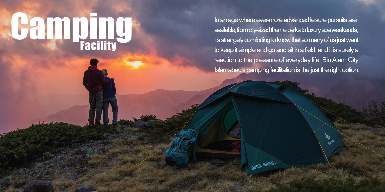 Bin Alam City - Camping Facility