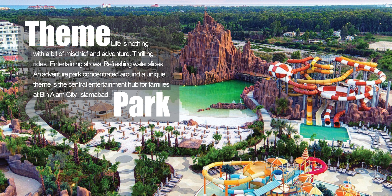 Bin Alam City - Theme Park