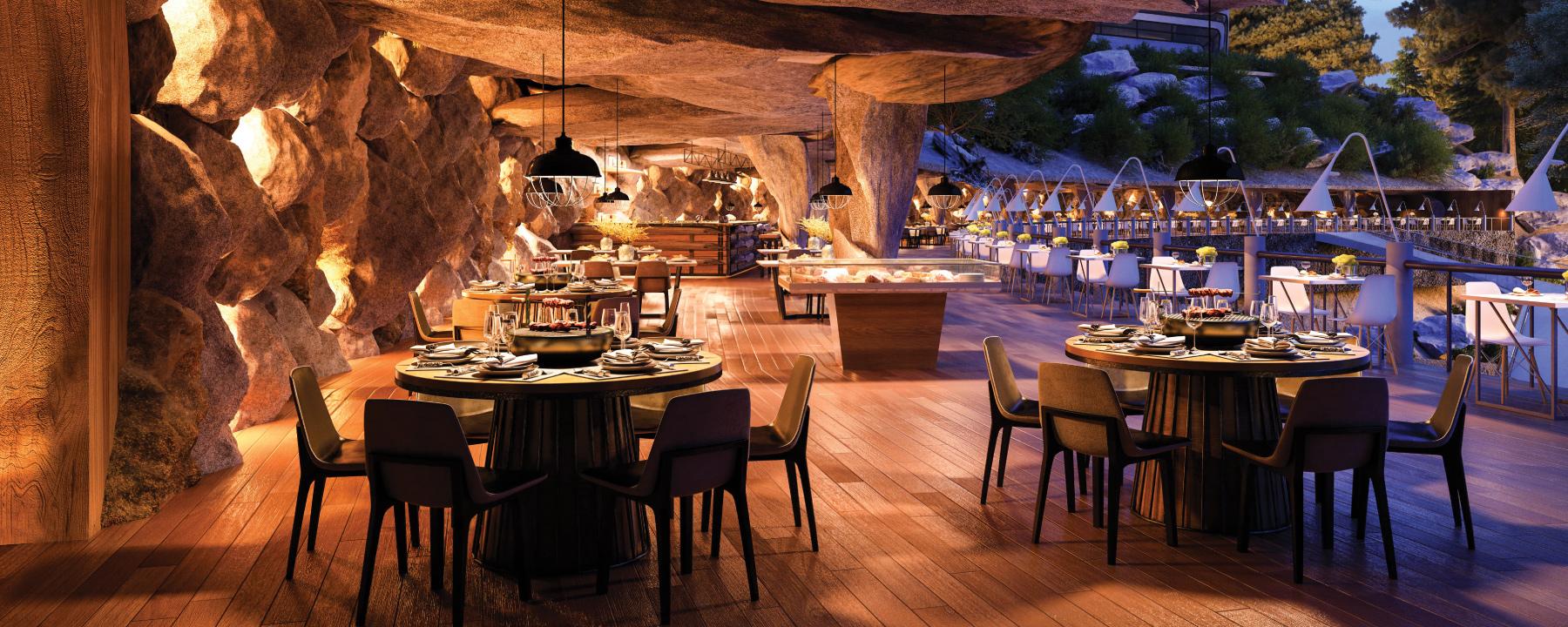 Montviro - Cave Restaurant