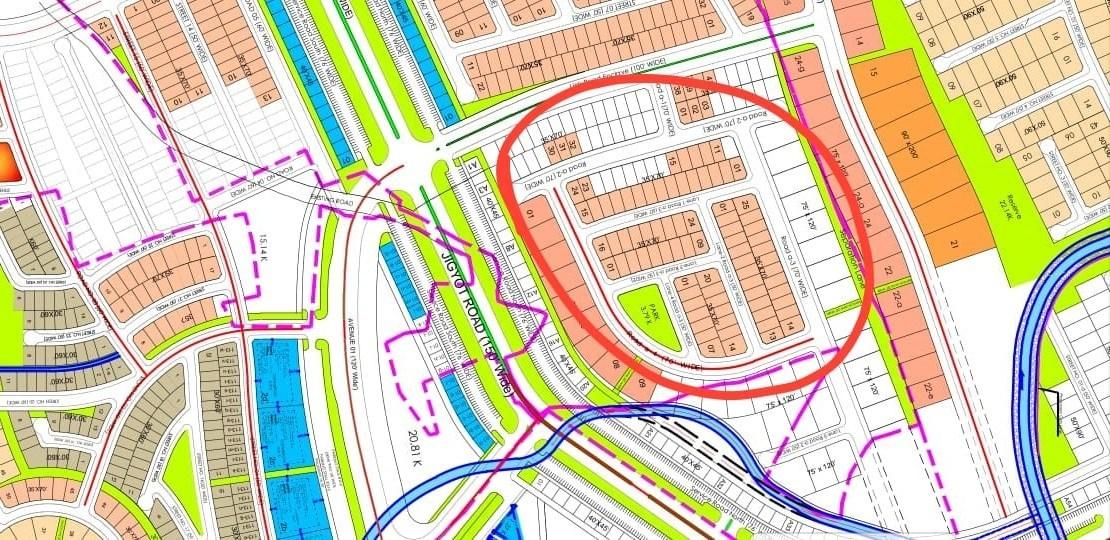 Bahria Enclave Sector C-1 Map