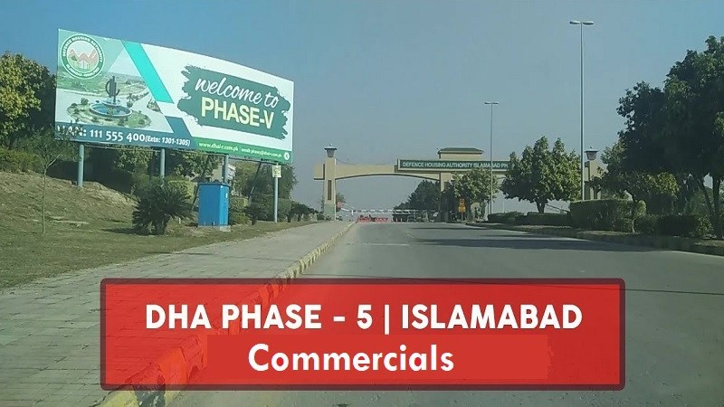DHA Phase-5 Islamabad Commercial Plots