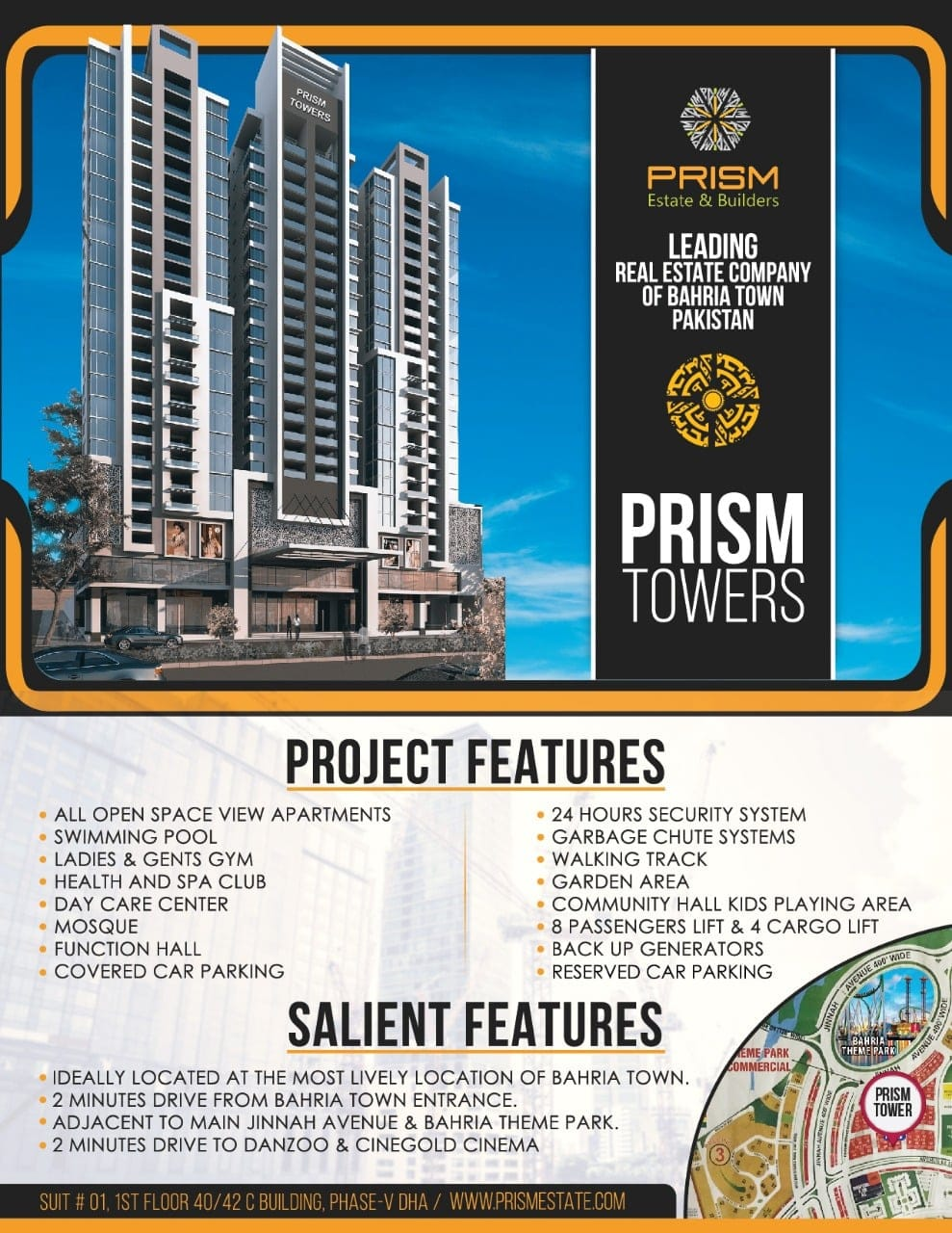 Prism Towers - Project & Salient Features