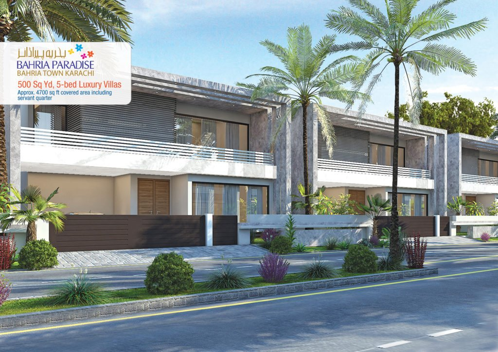 Bahria Paradise 500 Square Yard Model house