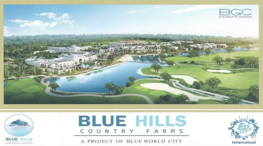 Blue Hills Country Farm Houses – A Project of Blue World City