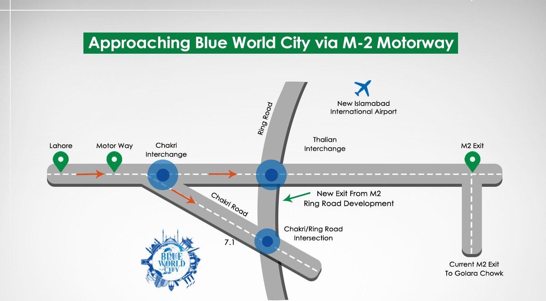 Blue World City Location