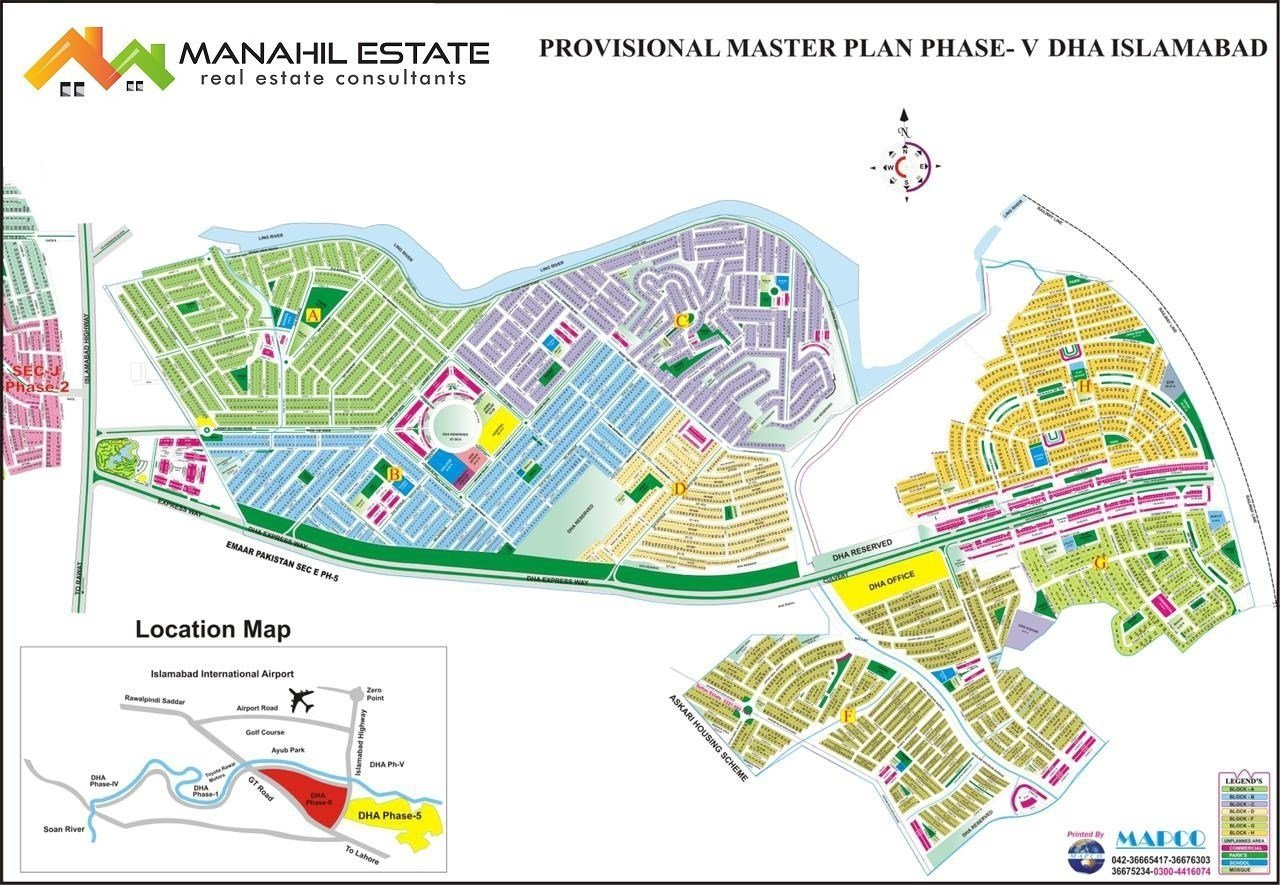DHA Phase-5 MasterPlan