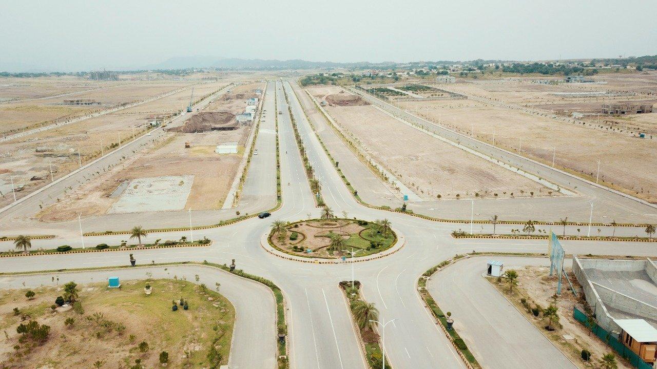 Gulberg Islamabad Roundabout